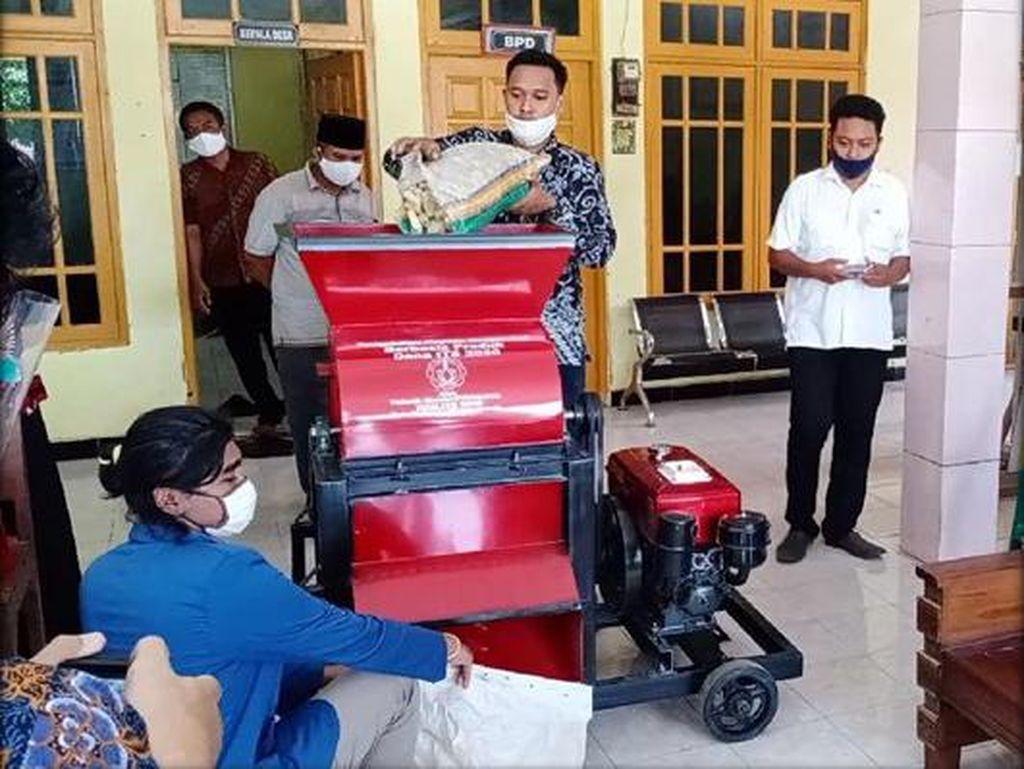 Ciptakan Mesin Pencacah Bonggol Jagung, Solusi ITS Bantu Petani di Gresik