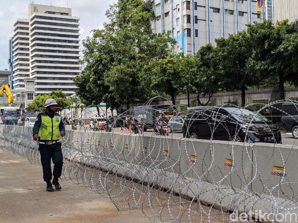 Ada Demo Kecam Macron, Polisi Siapkan Rekayasa Lalin di Kedubes Prancis