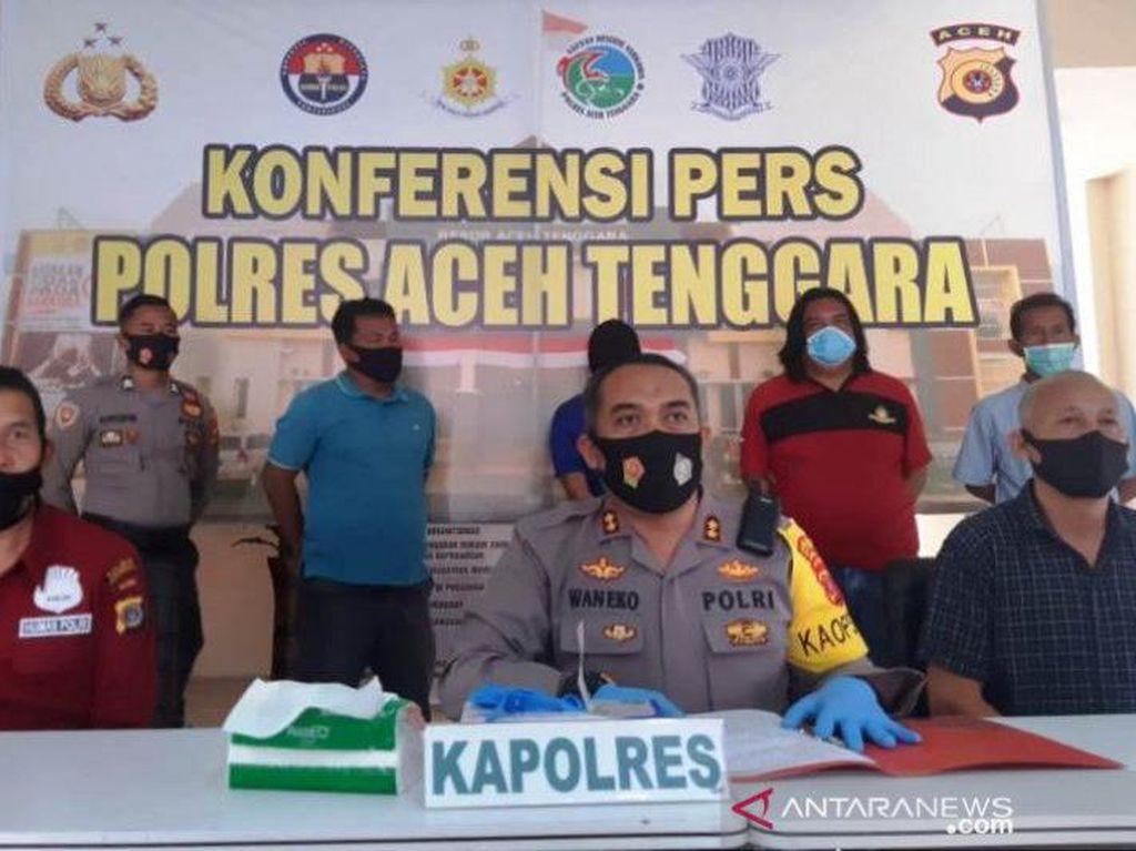 Eks Polisi Penusuk Ustaz Saat Ceramah di Aceh Dipecat karena Desersi