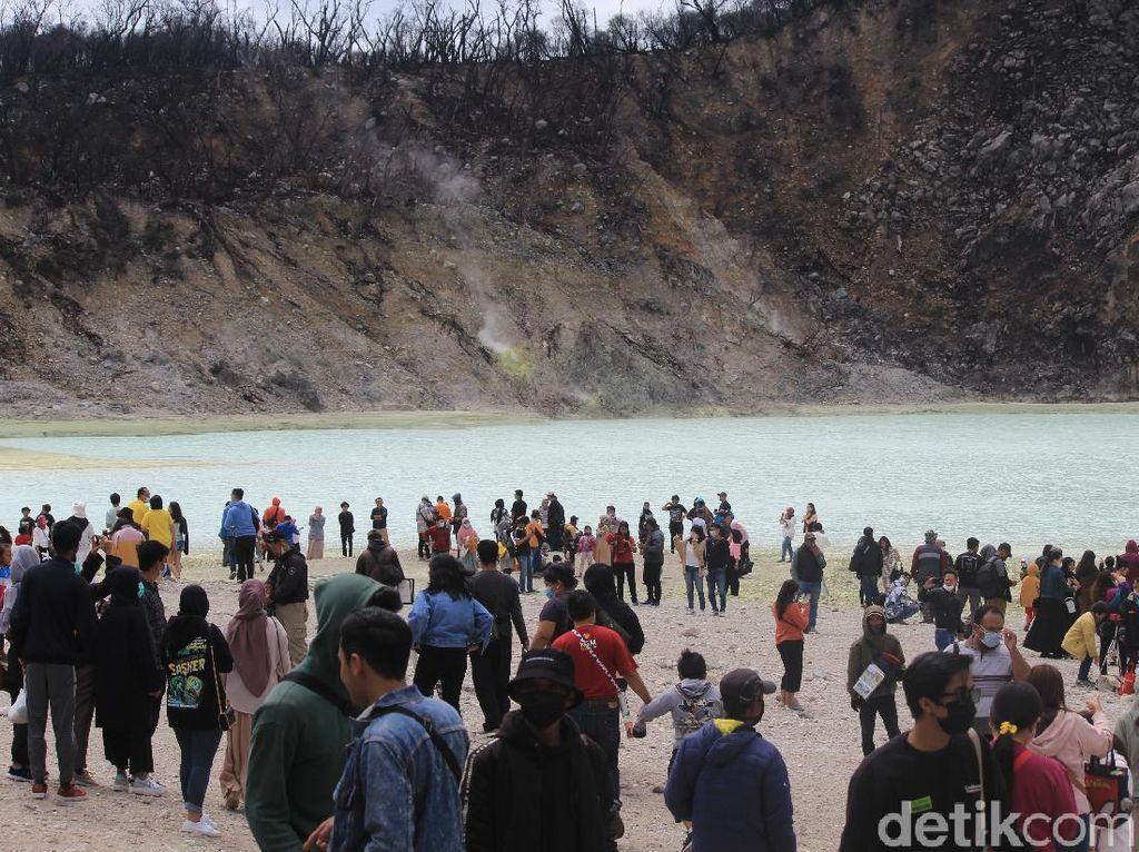 Hari Ketiga Libur Cuti Bersama, Kawasan Ciwidey Diserbu Wisatawan
