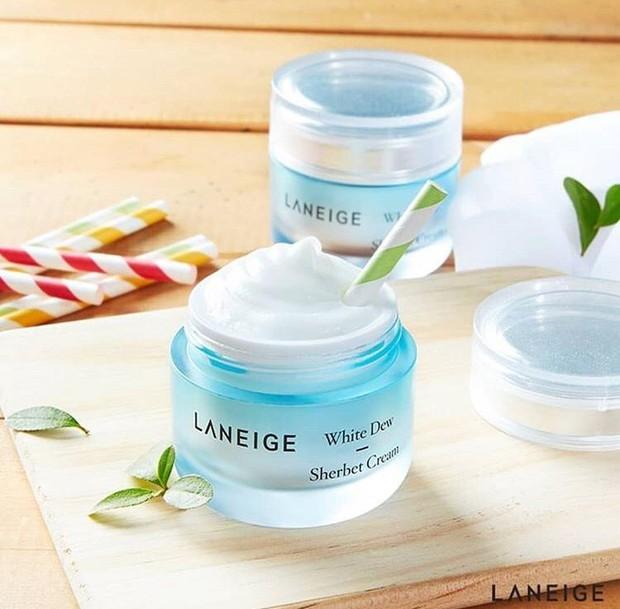 Laneige White Dew Sherbet Cream/ sumber: instagram.com/glossybeautystore