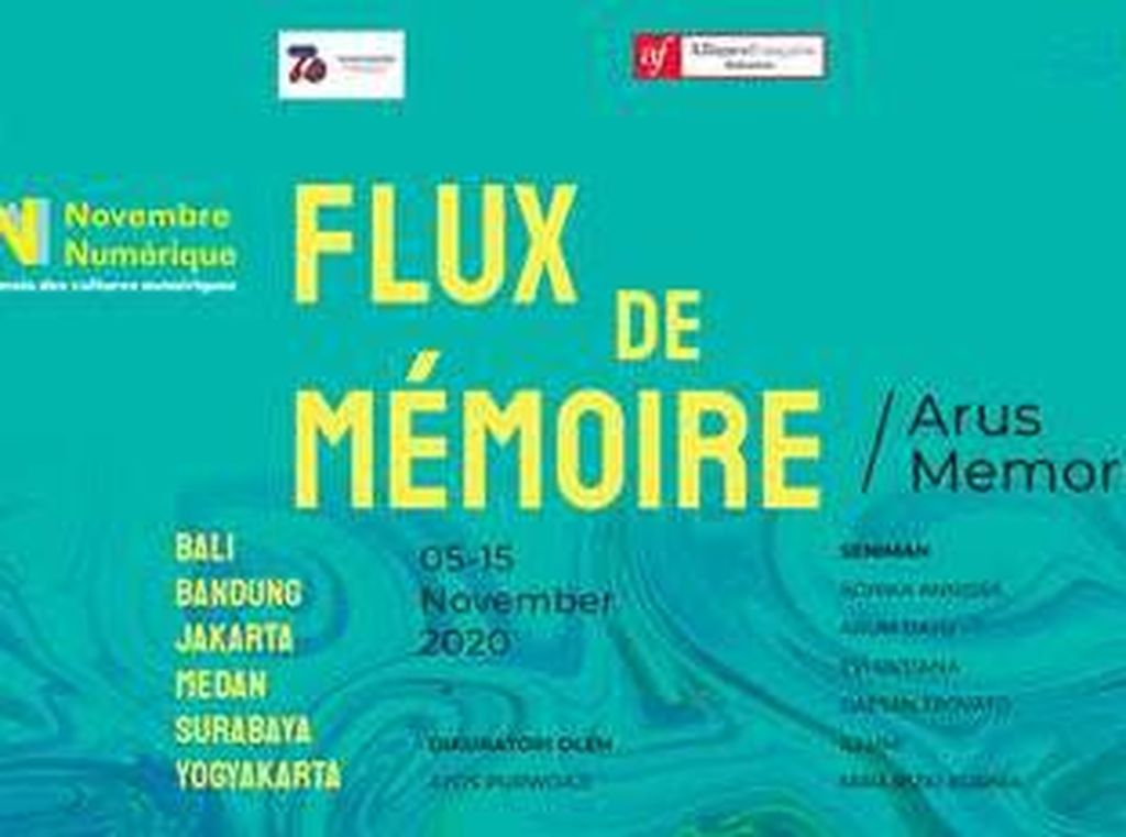 6 Seniman Indonesia dan Prancis Kolaborasi di Pameran Novembre Numerique