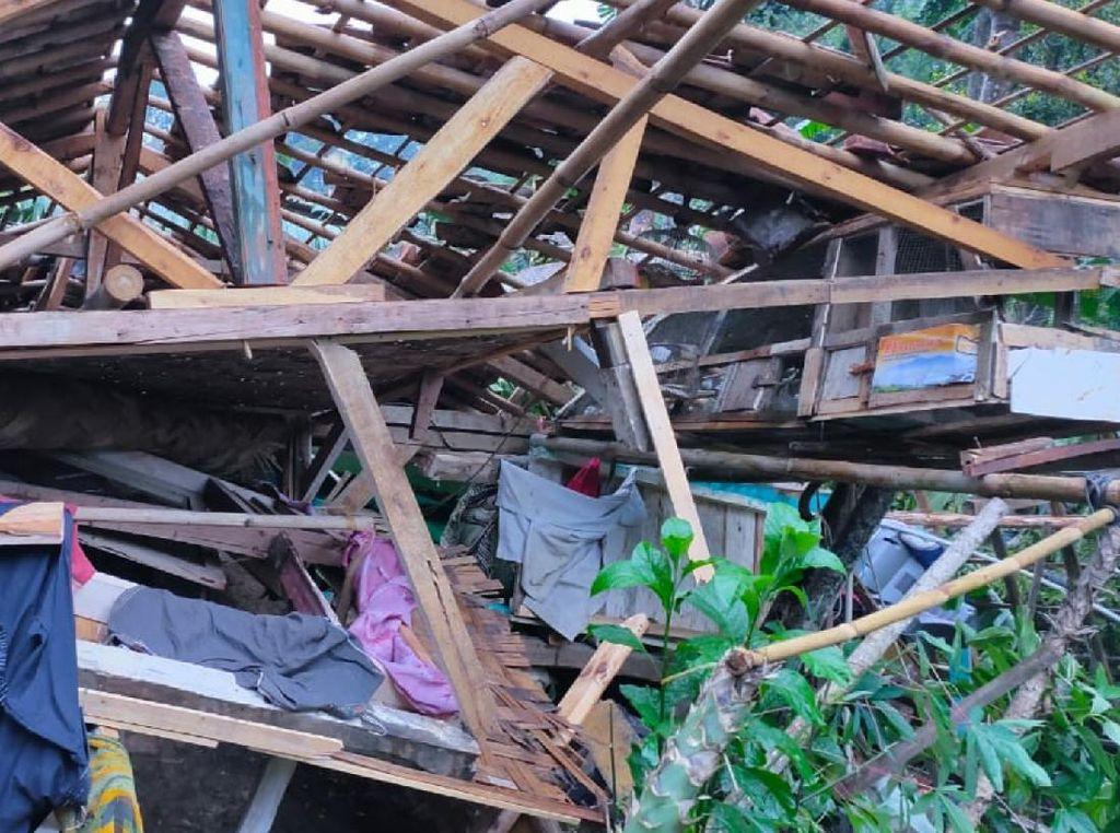 Puting Beliung Terjang  Sukabumi, 58 Rumah Rusak dan 1 Warga Terluka