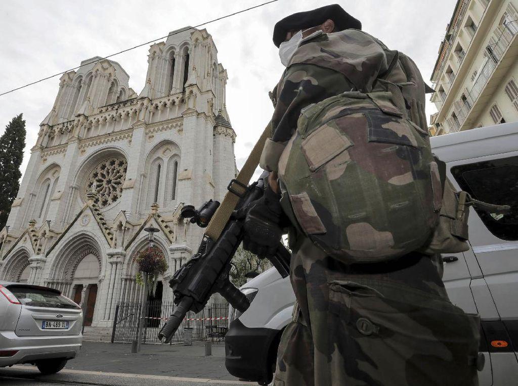 AS Ingatkan Prancis Tidak Pakai Tindakan Keras dalam Tangani Ekstremis