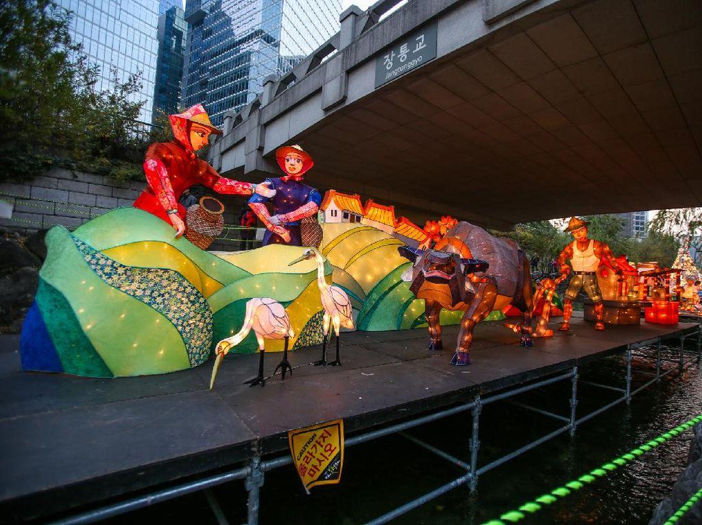 Masih Pandemi, Korsel Tetap Gelar Festival Lentera Seoul
