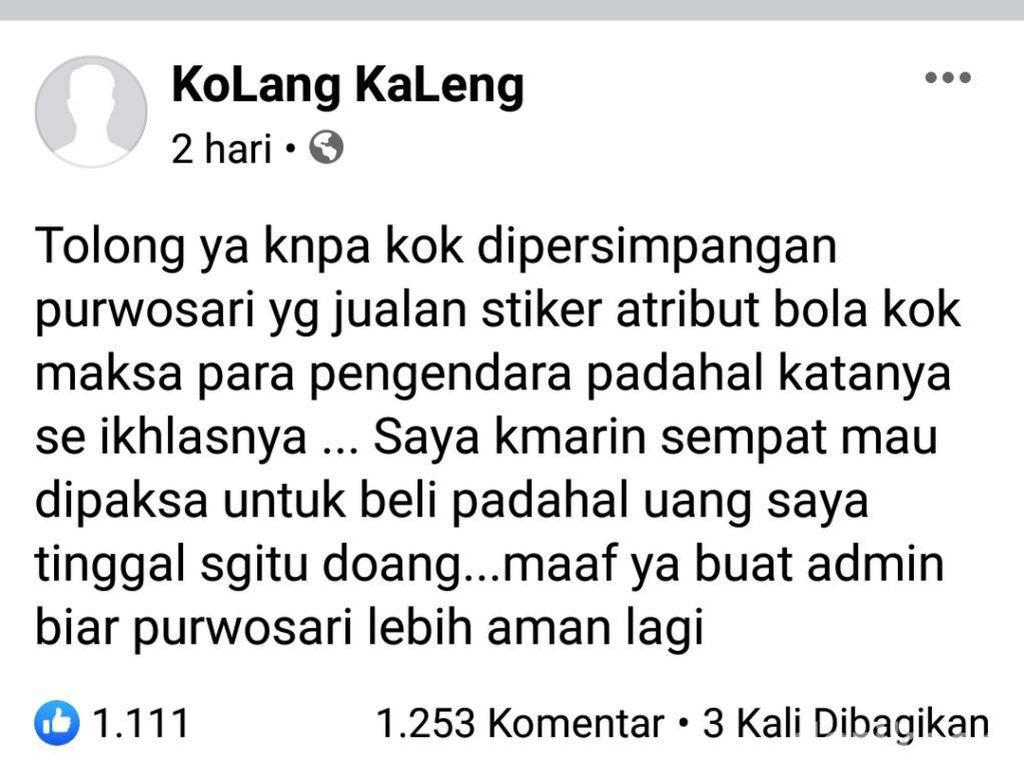 Satpol PP Turun Tangan soal Pengendara Dipaksa Beli Stiker di Pasuruan