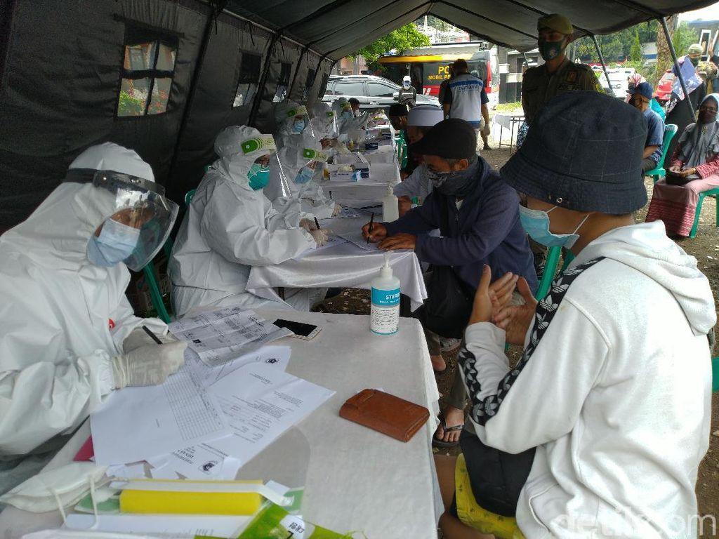 4 Hari Rapid Test di Puncak Bogor, 69 Wisatawan Reaktif Corona