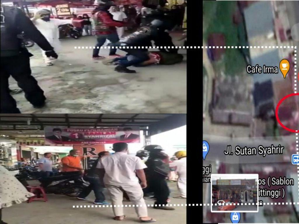 Ini Area Anggota Klub Harley Keroyok 2 Prajurit TNI di Bukittinggi