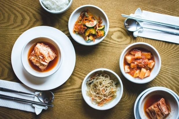 Orang Korea terbiasa mengonsumsi sayuran.