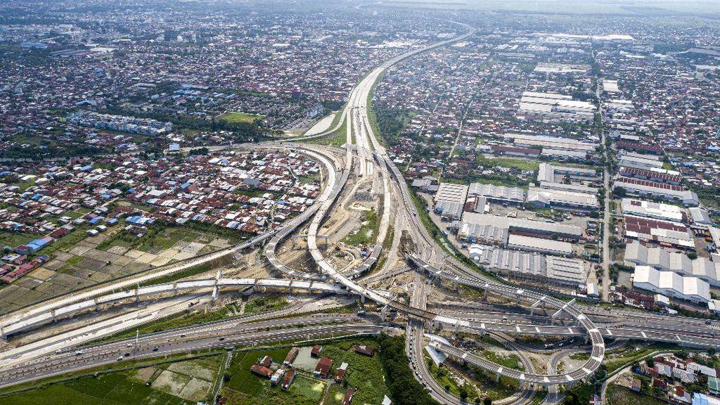 Terkini! Penampakan Tol Trans Sumatera yang Terus Dikebut