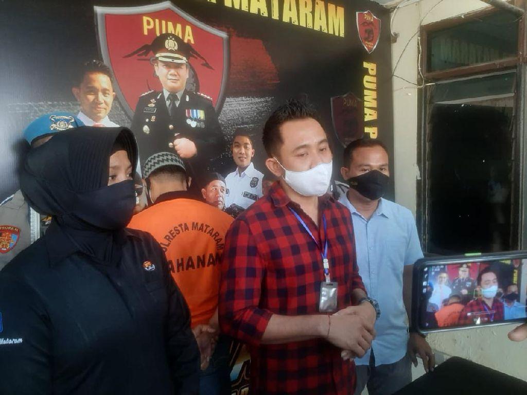 Peras Hingga Ancam Bunuh Sepasang Kekasih, Pria di Mataram Ditangkap