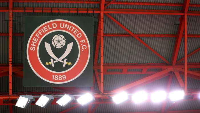 SHEFFIELD, ENGLAND - SEPTEMBER 27:  A general view inside Bramall Lane is seen prior to the Premier League match between Sheffield United and Leeds United at Bramall Lane on September 27, 2020 in Sheffield, England. Sporting stadiums around the UK remain under strict restrictions due to the Coronavirus Pandemic as Government social distancing laws prohibit fans inside venues resulting in games being played behind closed doors. (Photo by Alex Livesey/Getty Images)