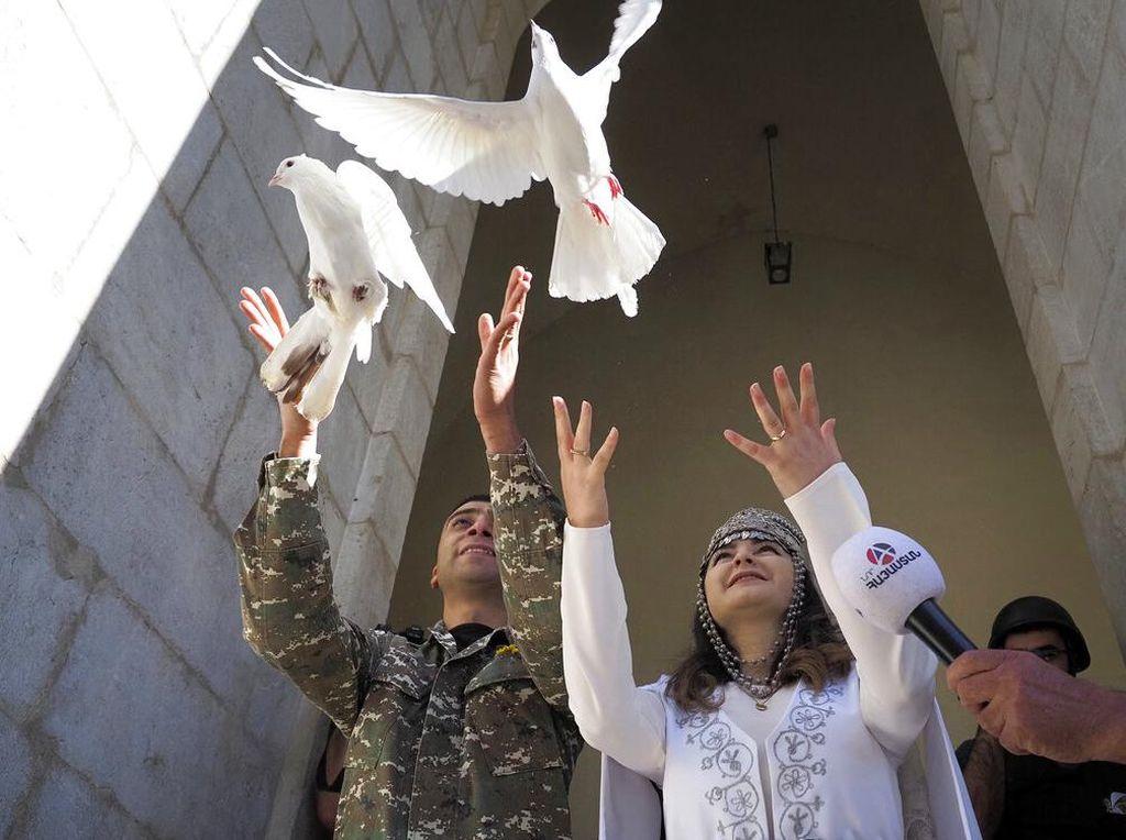 Armenia-Azerbaijan Gencatan Senjata, Warga Mulai Bisa ke Gereja