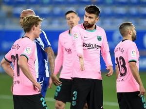 Alaves Vs Barcelona: Unggul Jumlah Pemain, Blaugrana Gagal Menang