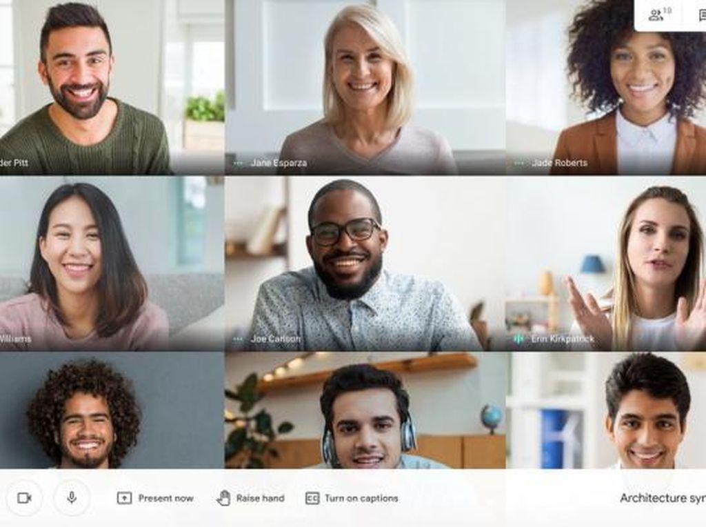 Google Meet Bisa Pakai Gambar di Latar Belakang, Ini Caranya