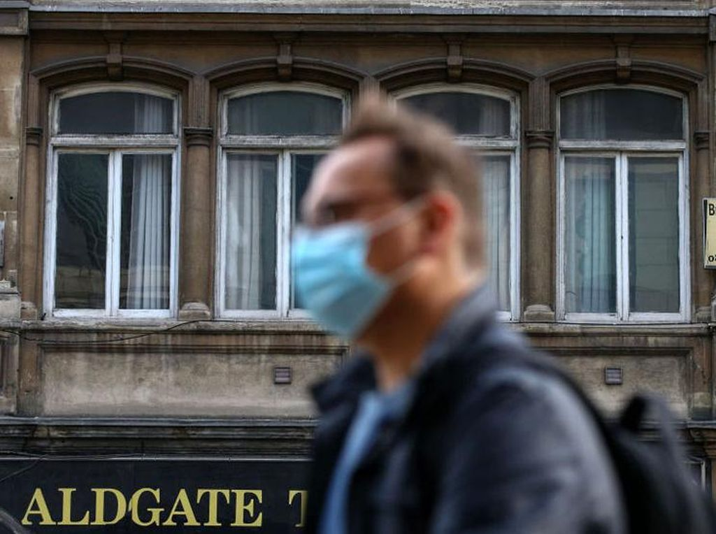 Top! London Nol Kasus Kematian COVID-19 dalam 6 Bulan Terakhir