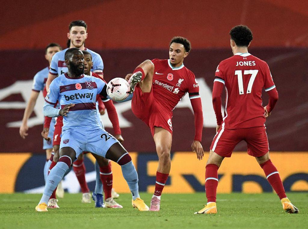 Babak I Liverpool Vs West Ham Sama Kuat 1-1