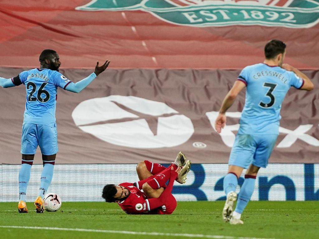 Liverpool Vs West Ham: Moyes Tuding Salah Diving