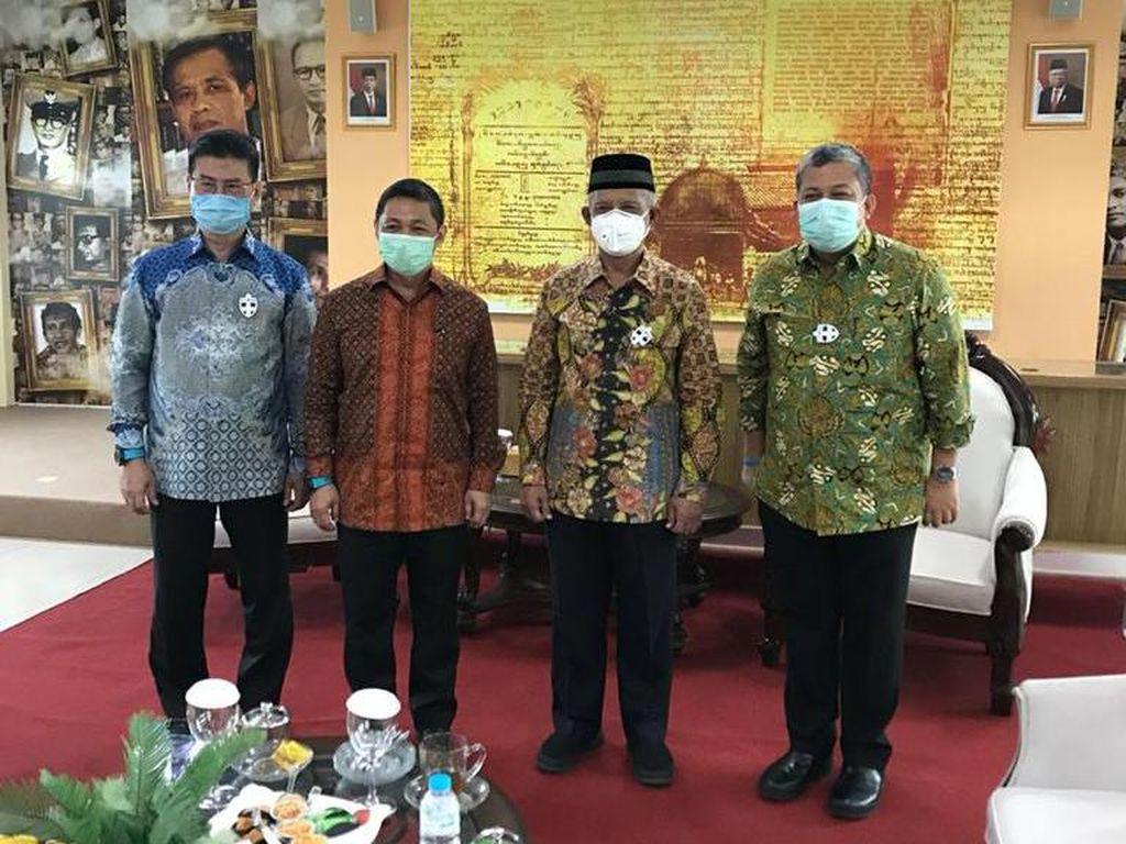 Anis Matta Temui Haedar Nashir: Gelora-Muhammadiyah Perlu Kolaborasi