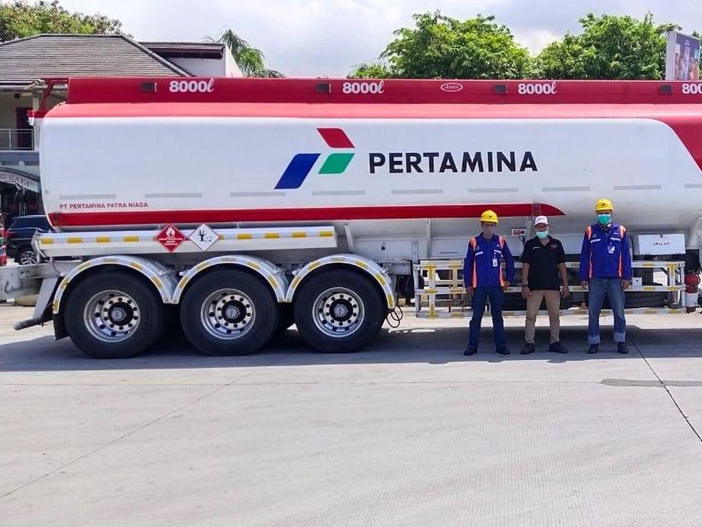Arus Balik, Pertamina Siapkan Mobile Storage di Tol Purbaleunyi-Cipali