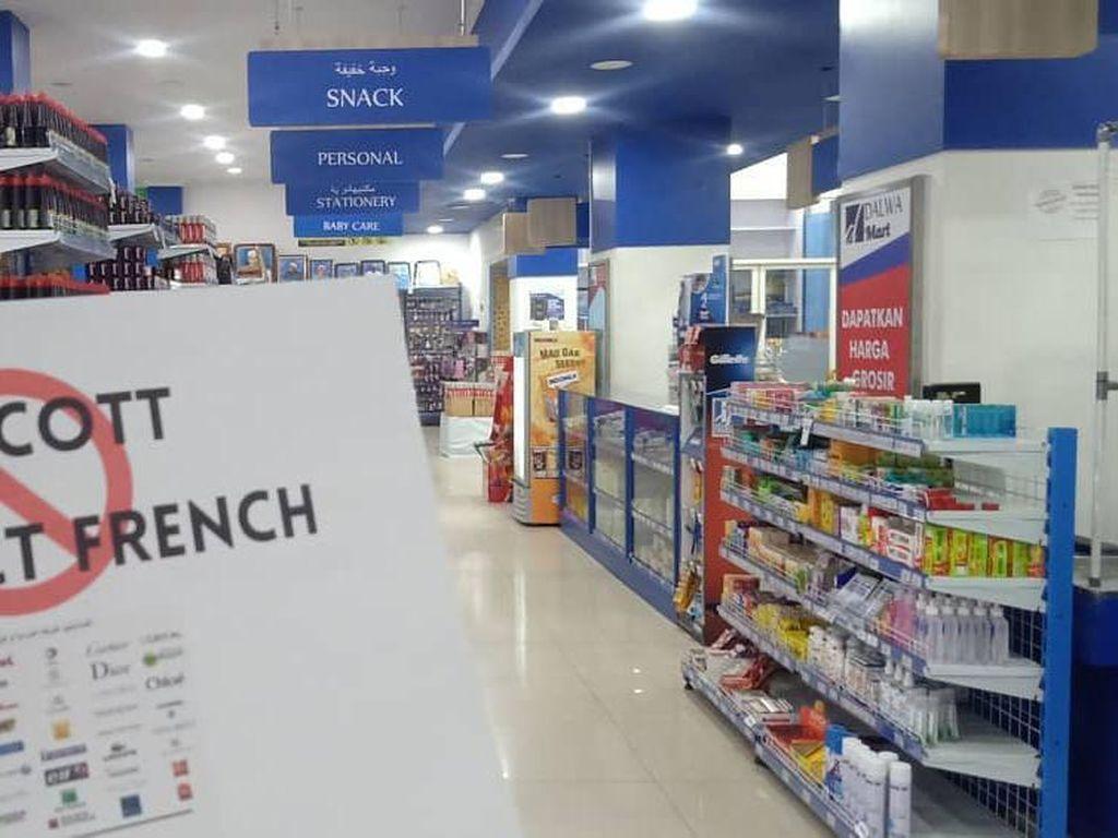 Produk Makanan Prancis Mulai Diboikot di Banyak Minimarket Indonesia
