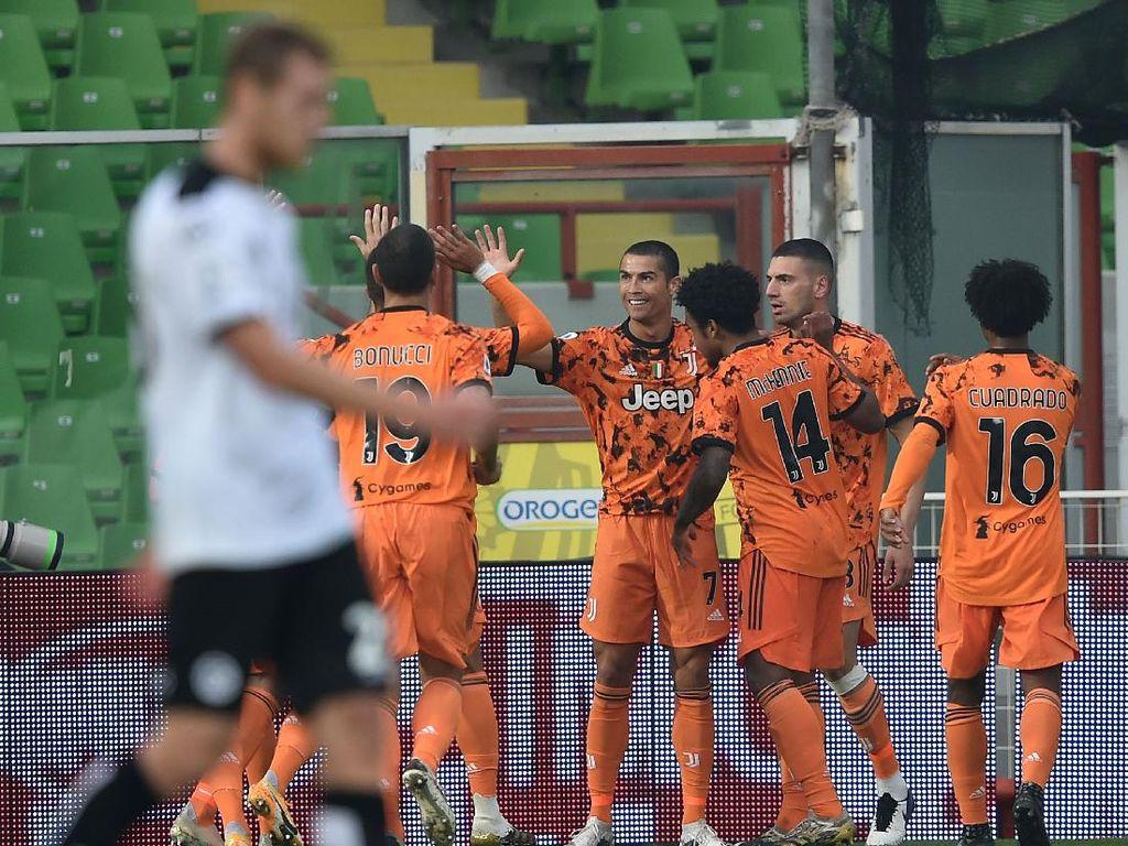 Spezia Vs Juventus: Ronaldo Dua gol, Bianconeri Menang 4-1