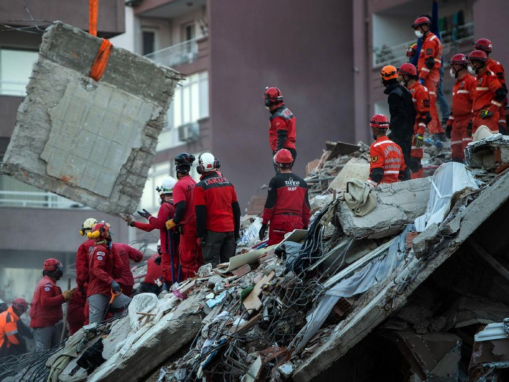 2 Bocah Berhasil Diselamatkan Hampir 3 Hari Usai Gempa Turki