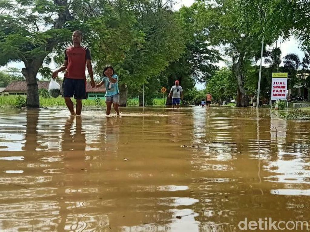 Sungai Madiun Meluap, 5 Desa di Ngawi Terendam Banjir