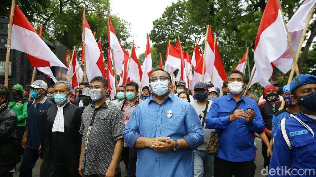 Buruh Bubarkan Diri Usai Ajukan Gugatan ke MK