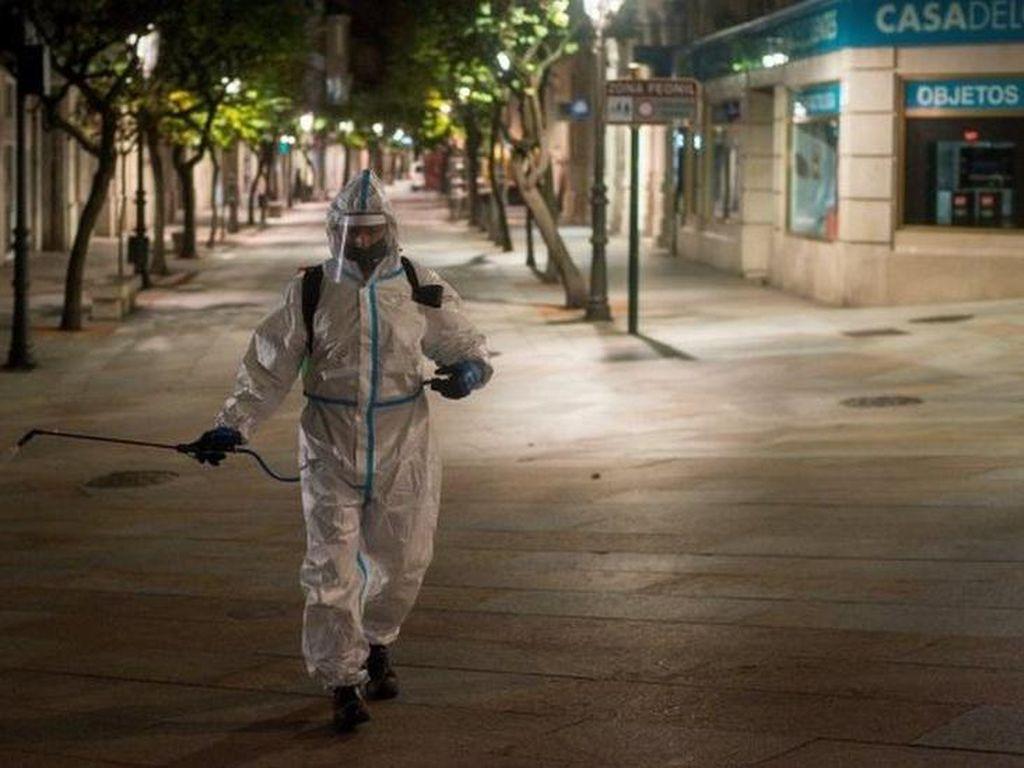Korban Tewas Corona Bertambah, Petugas Pemakaman di Spanyol Mogok Kerja