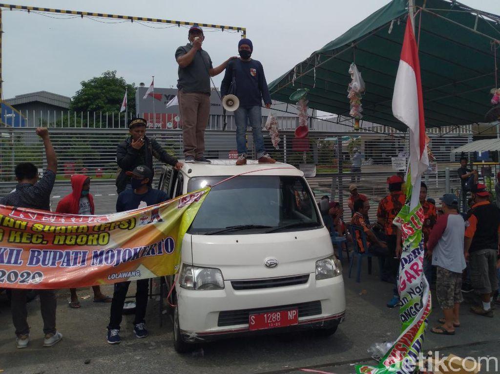 Pabrik Kabel Kendaraan di Mojokerto Didemo, Warga Tuntut Pengelolaan Limbah