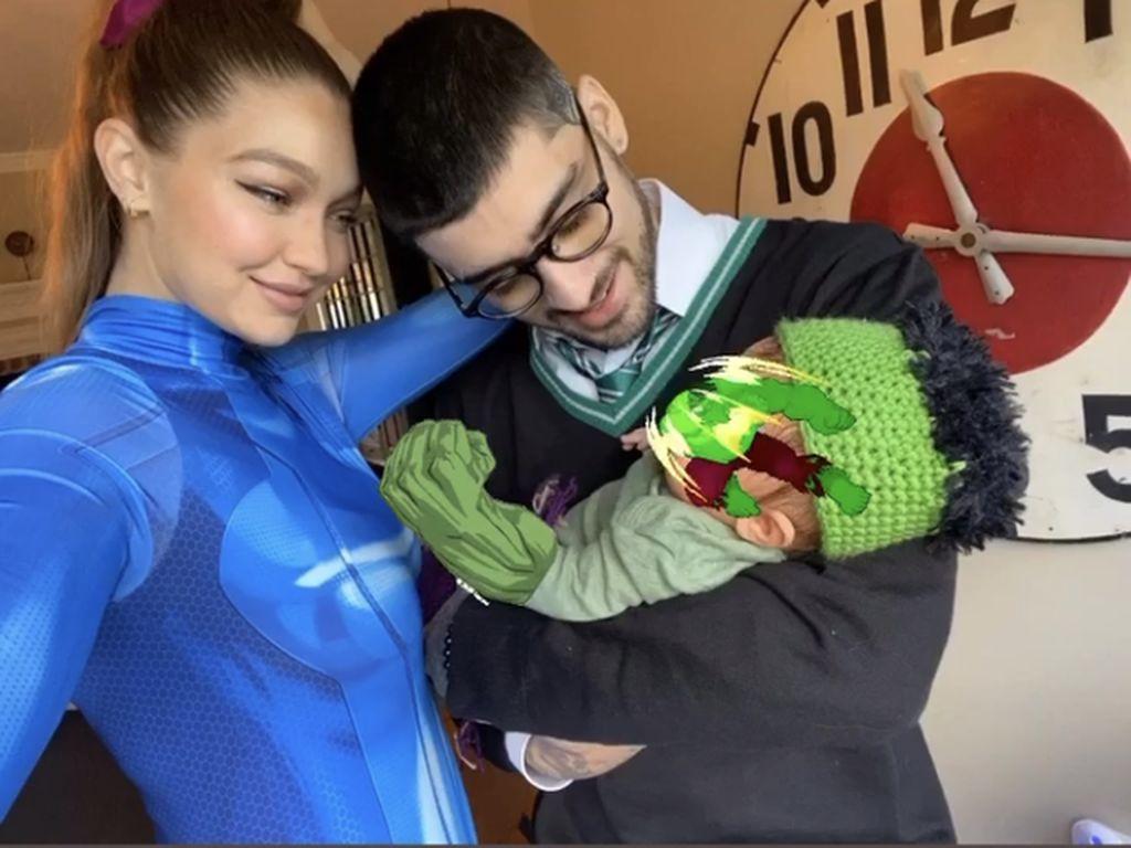 Gigi Hadid dan Zayn Malik Pamer Foto Putrinya