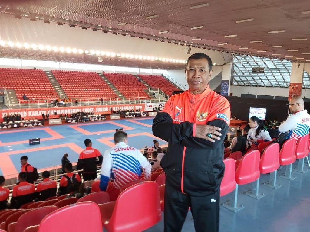 Pelatnas Karate Menuju Olimpiade Tunggu Kucuran Dana Kemenpora