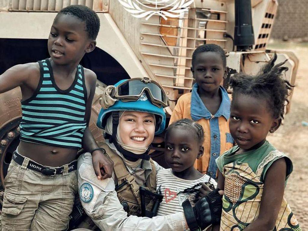 Cerita Polwan Jadi Penjaga Perdamaian PBB di Afrika