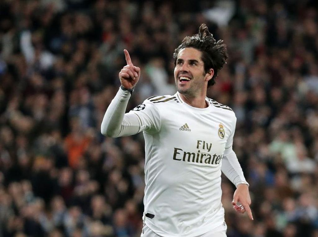 Dear Isco, Zidane Masih Butuh Dirimu di Real Madrid