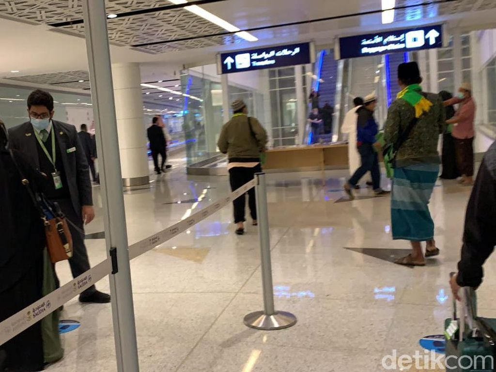 Sambut Jamaah Umroh, Hotel dan Bandara Arab Saudi Sepi Banget