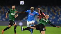 Tundukkan Napoli 2-0, Sassuolo Terus Mengintil AC Milan