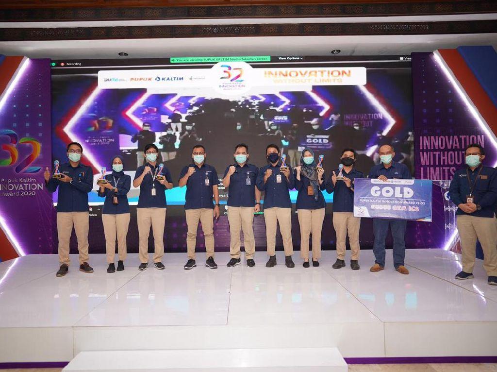 Gelar Innovation Awards, Rahmad Pribadi Dorong Inovasi Pupuk Kaltim
