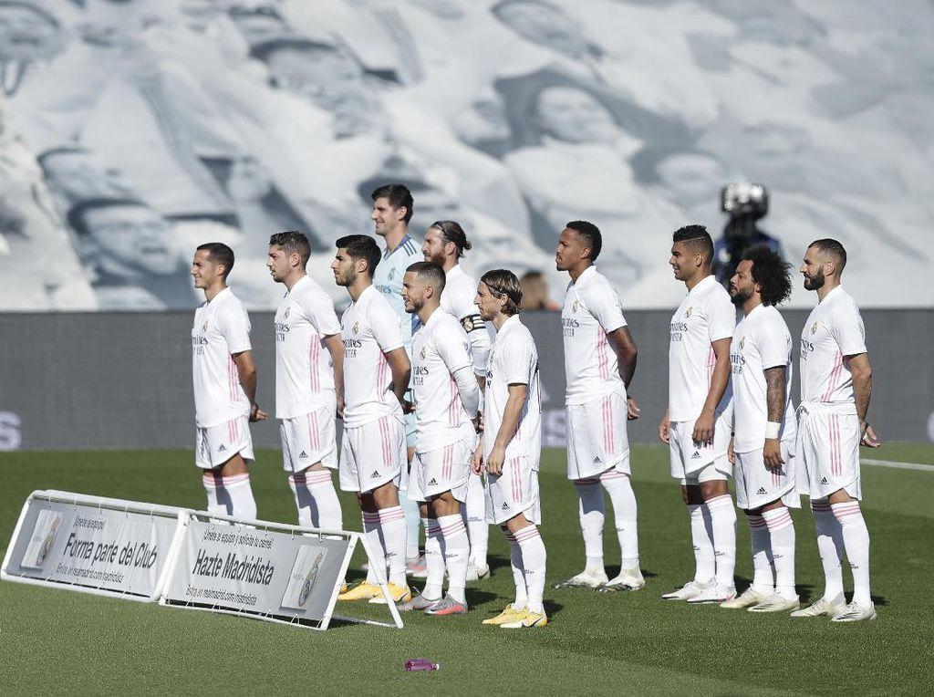 Klasemen Liga Spanyol: Real Madrid Posisi 2, Barcelona ke-12