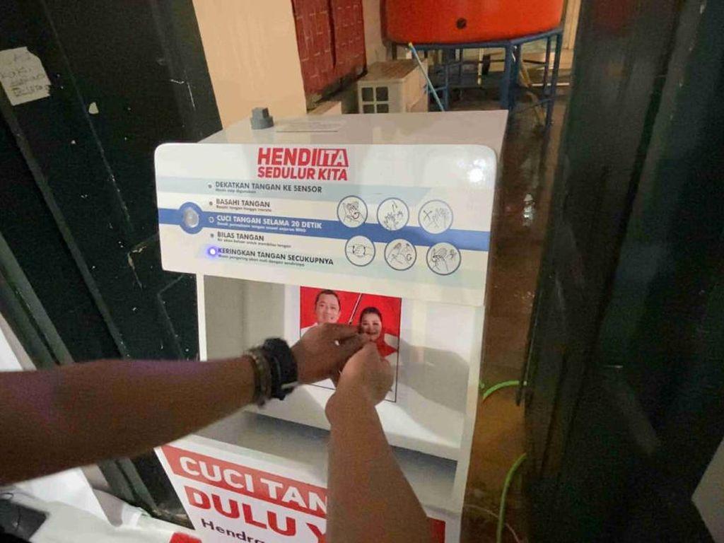 Kreatif! Cawalkot Semarang Hendi Kampanye dengan Robot Cuci Tangan