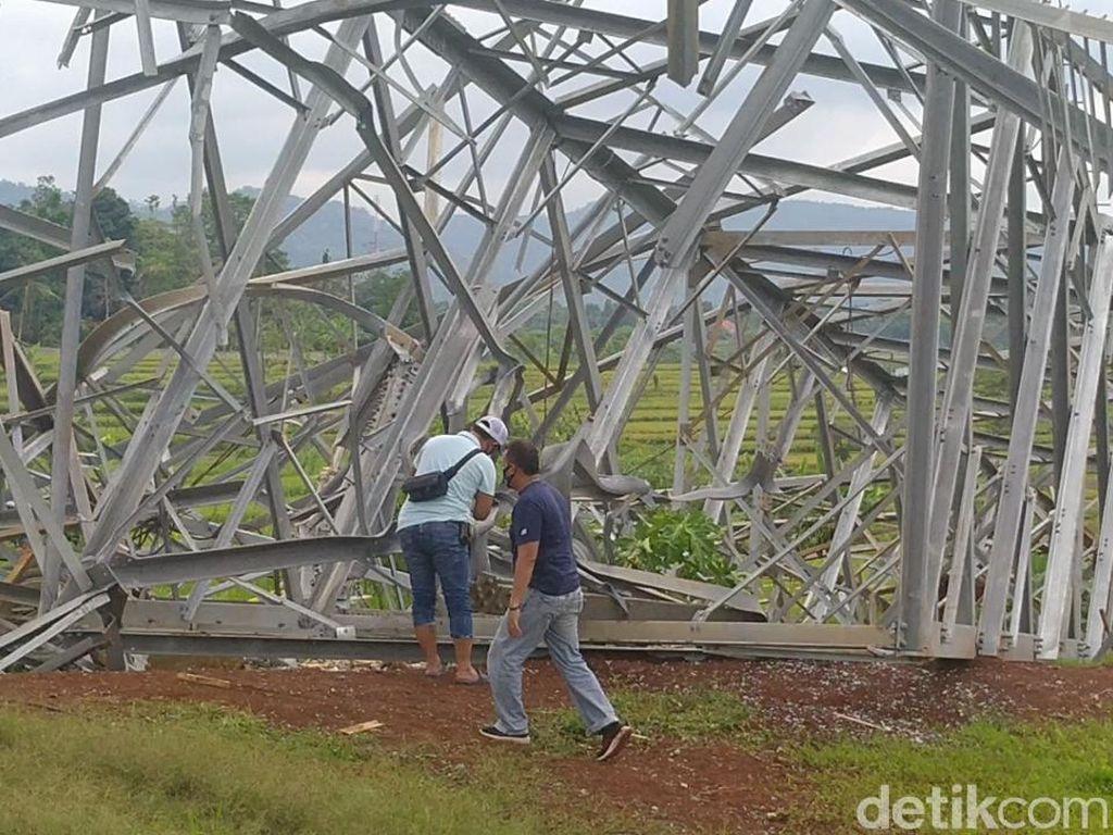Korban Ceritakan Detik-detik Robohnya Tower SUTET di Batang