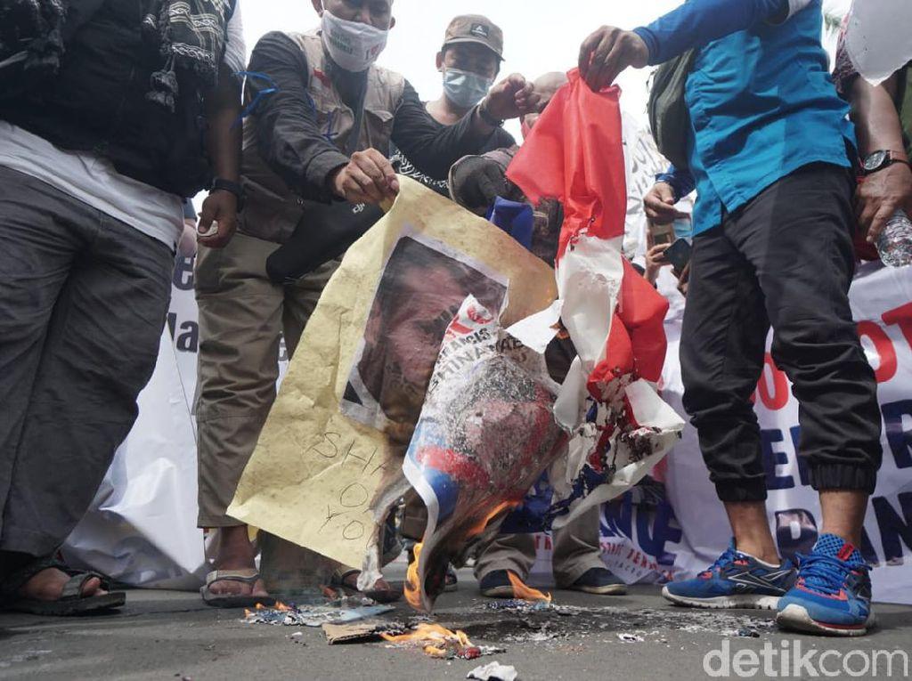 Ormas Islam di Surabaya Serukan Boikot Produk Prancis
