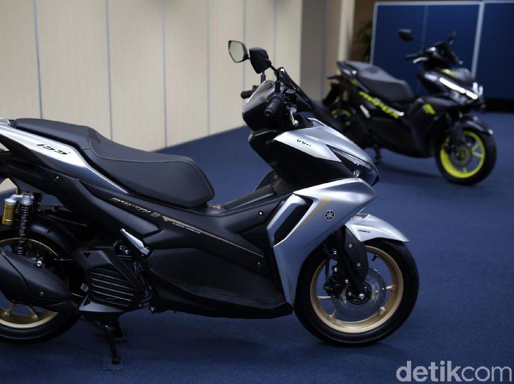 Yamaha Aerox Minus Kontrol Traksi dan Cakram Belakang, Kenapa?
