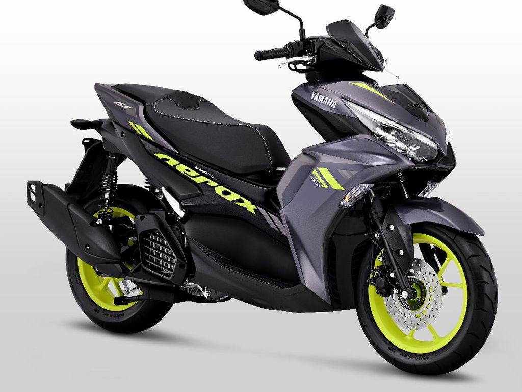 Yamaha Aerox 155 Connected: Spesifikasi, Fitur dan Harga