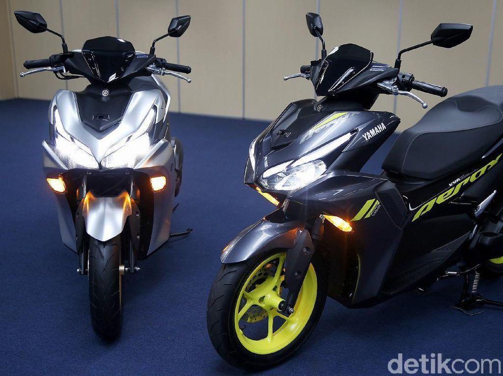 Pilih Yamaha Aerox 155 atau Honda Vario 150? Harga Cuma Beda Rp 1 Jutaan
