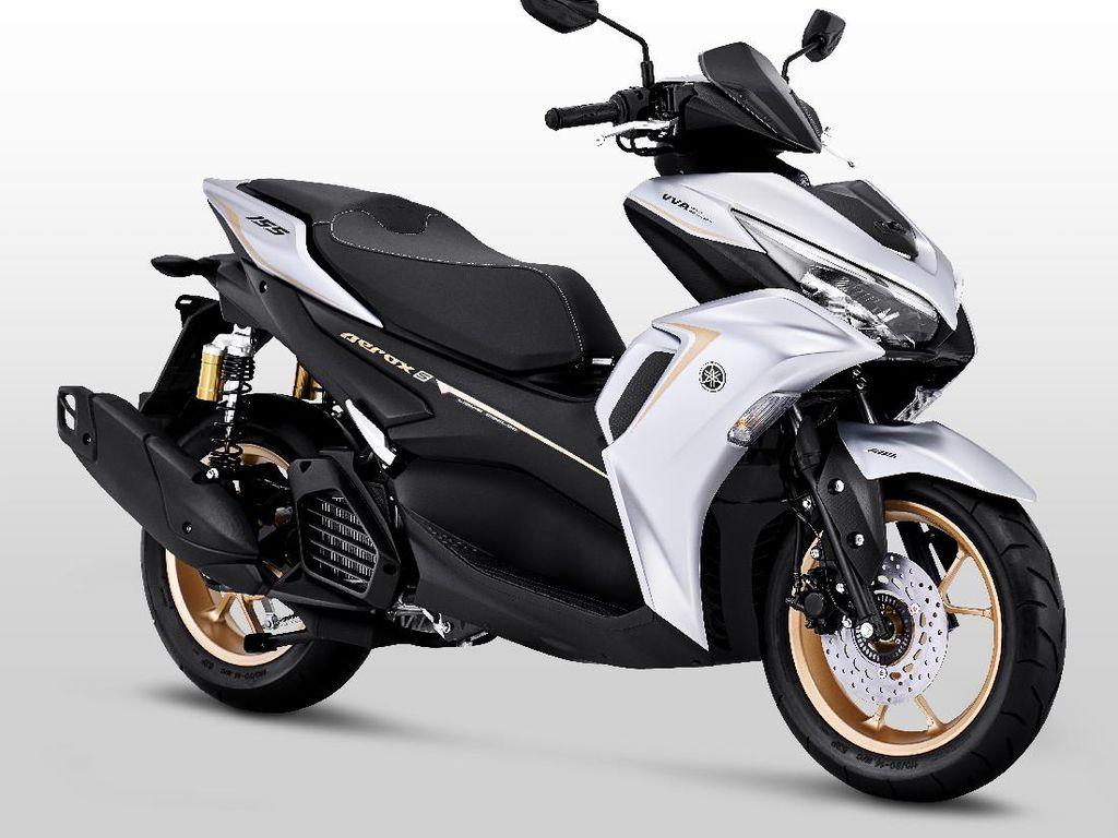 7 Perbedaan Yamaha Aerox Connected dengan Generasi Sebelumnya