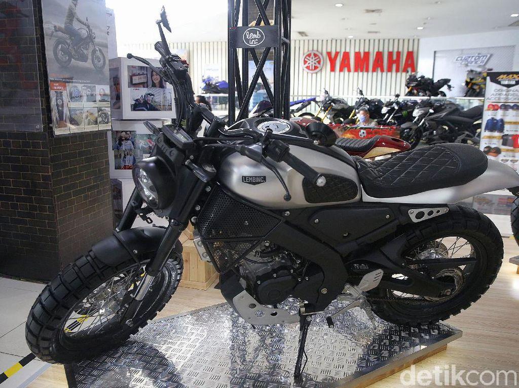 Gahar! Yamaha XSR155 Bergaya Scrambler