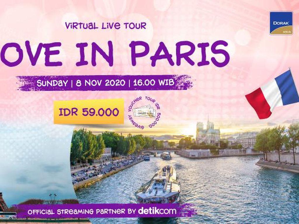 Akhir Pekan, Yuk Jalan-jalan Romantis ke Paris di Sini!