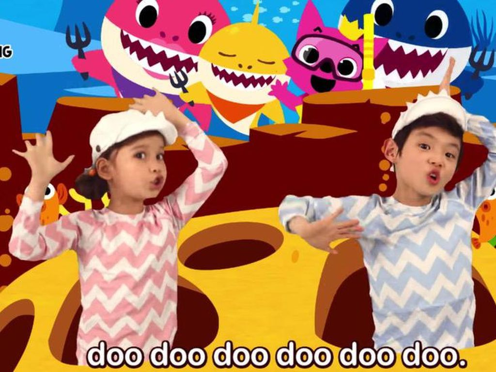 Baby Shark Jadi Video YouTube Paling Banyak Dilihat Sepanjang Masa