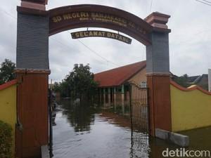 Dua Hari Diguyur Hujan, Dua Desa di Sidoarjo Kebanjiran